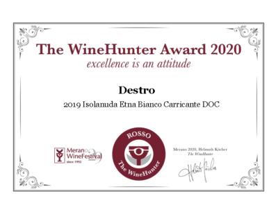 The WineHunter Award ROSSO (1953)